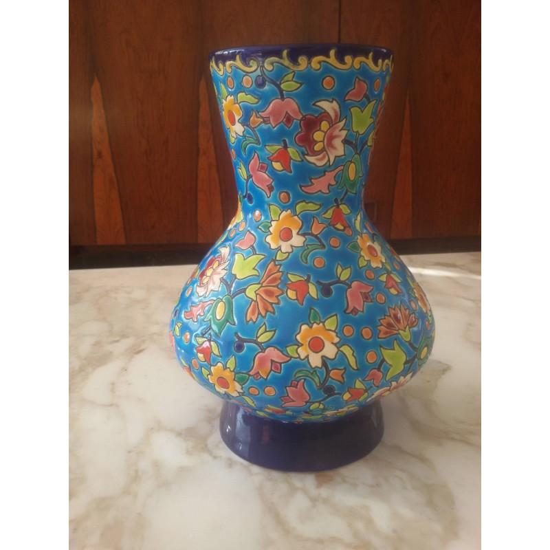 Vase émaux de Longwy
