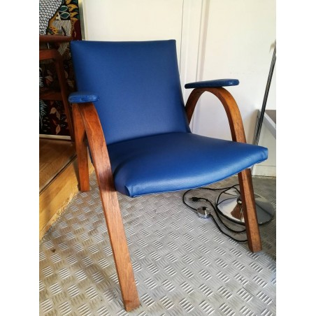 """Fauteuil """"bow wood"""" Edition Steiner"""