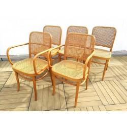 Chaises et fauteuils Josef Hoffman édition Thonet