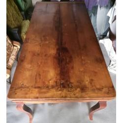 Table Chêne fin xixème
