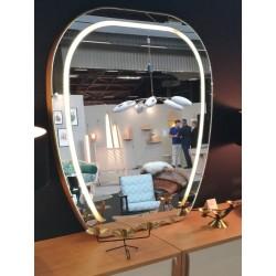 Grand miroir lumineux