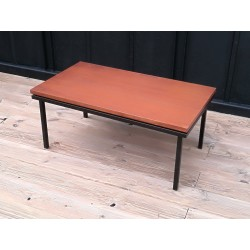Table basse teck scandinave vintage 60