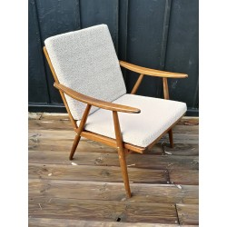 Fauteuil THONET boomerang vintage 50