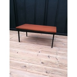 Table basse teck scandinave vintage 60