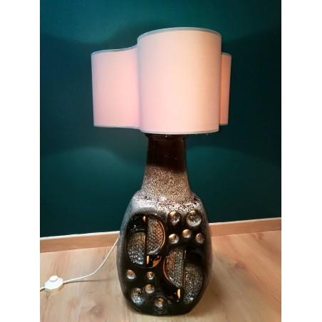 Lampe céramique West-Germany