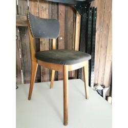 """Chaise """"Bois courbé"""" vintage 50"""