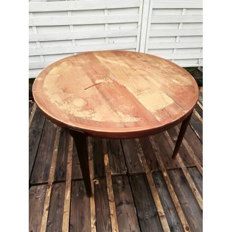 Table scandinave vintage en teck