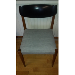 chaise teck vintage 60