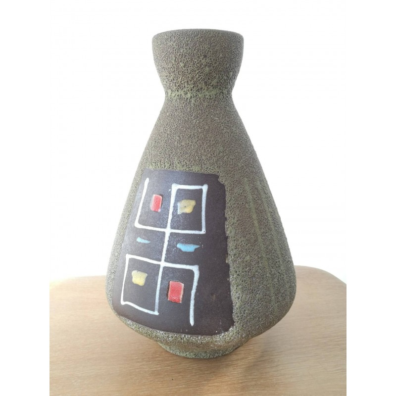 Vase céramique west Germany vintage