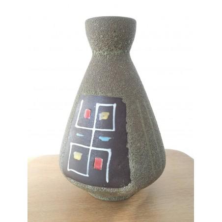 Vase céramique west Germany vintage