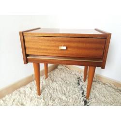 Table de chevet vintage 60