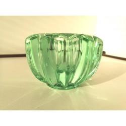 Vase verre de Pierre d'Avesn Art Déco