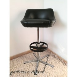 Tabouret de bar design vintage 1970