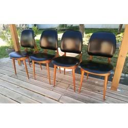 """4 chaises Baumann """"Pégase""""..."""