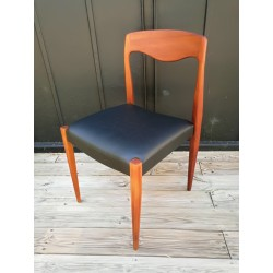Chaise scandinave teck