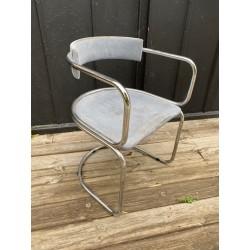fauteuil design chrome...