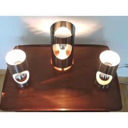 Appliques et lampe à poser 70's