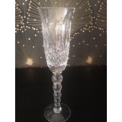 Flûte cristal artisanat de Lorraine