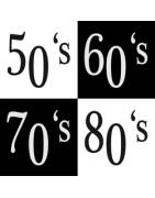 Design vintage des années 30,40, 50, 60, 70, 80.