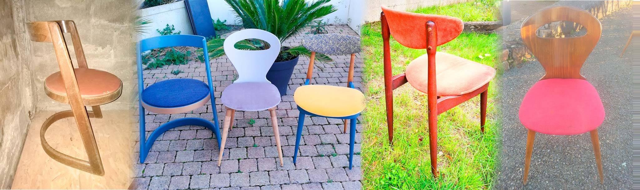 Découvrez nos chaises certifiés vintages